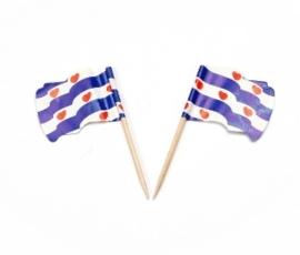 Vlagprikker Friesland wapperend (20 doosjes)