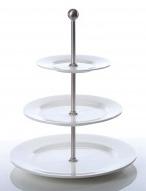 Etagere 3 trap borden met rand