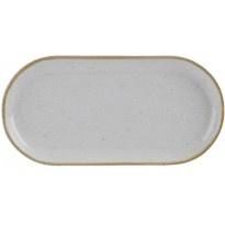 Stone - Smal ovaal bord (6stuks)