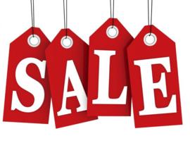 De sale is begonnen!