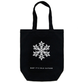 Canvas tas *Baby it's cold outside*