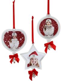 Set kerstboomhangers