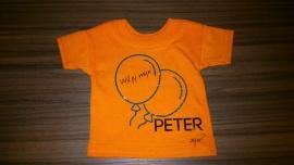Mini Tshirt *Wil jij mijn peter zijn?*