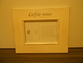 Fotokader *Liefste meter*