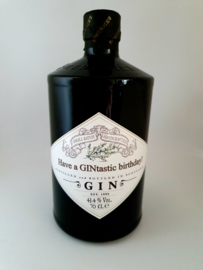 Hendrick's gin *Have a GINtastic birthday!*