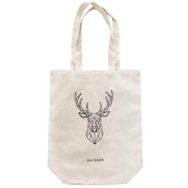 Canvas tas *Oh deer*