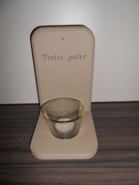 Theelicht *Trotse peter*