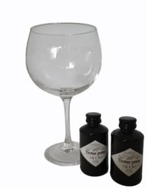 Gin glas gevuld *Wil jij mijn peter zijn?*