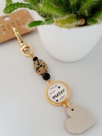 Handmade with ♥ armbandjes en sleutelhangers