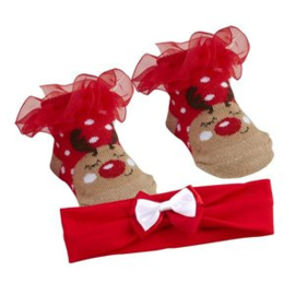 Kerstsokjes en haarbandje *rendier*