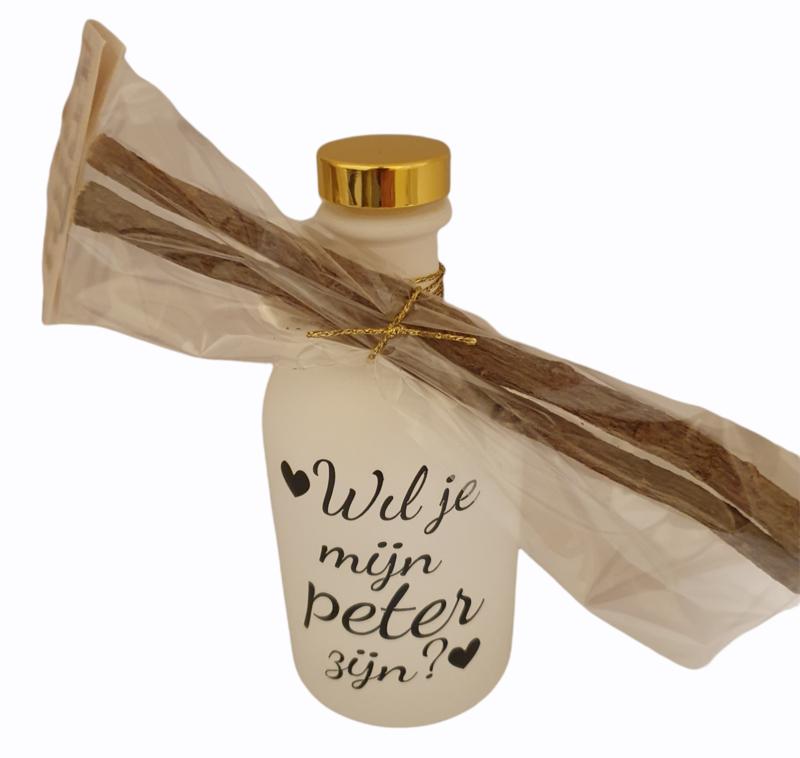 Luxe fles Gordon gin *Wil je mijn peter zijn?*