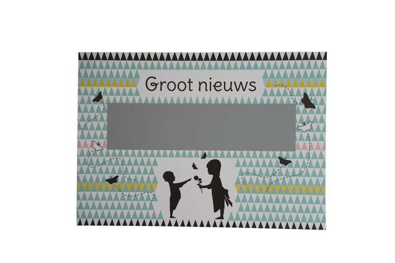 Kraskaart *Jullie worden oma en opa!*