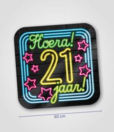 Neon- Schild 21 jaar