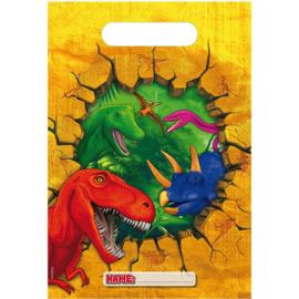 Dino- Uitdeelzakjes