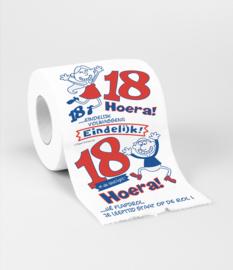 Toilet- 18 jaar