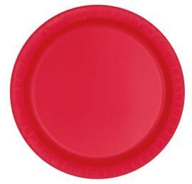 Rood- Bordjes