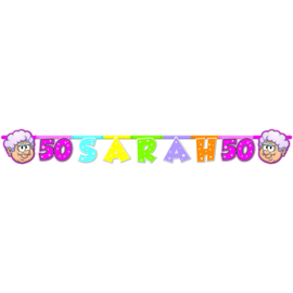 Sarah 50- Letterslinger