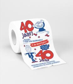 Toilet- 40 jaar man
