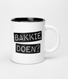 Mok- Bakkie doen?