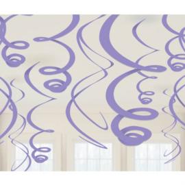 Paars- Swirl