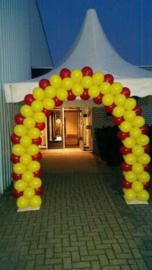 Boog- geel rood 6m