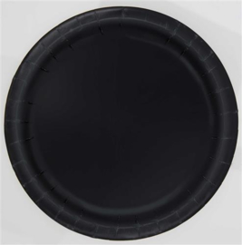 Zwart- Bordjes