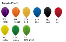 Metallic Pearls (glanzend)