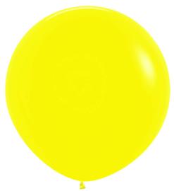 Topballon-  020 geel