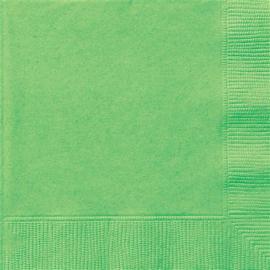 Grasgroen- Servetten