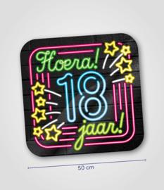 Neon- Schild 18 jaar