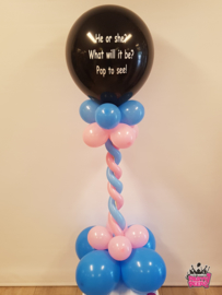 Gender Reveal- Mini pilaar tekst