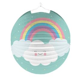 Lampion- Rainbow pastel