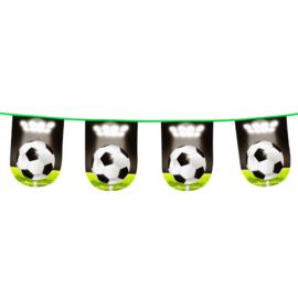 Voetbal- Slinger gras