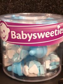 Snoep blauw- Baby flesjes