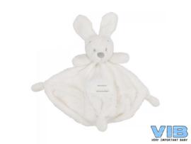 Knuffeldoekje- Konijn wit