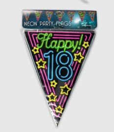 Neon vlaglijn- 18 jaar