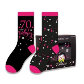 Sokken- roze 70