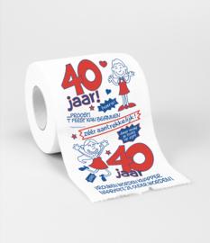 Toilet- 40 jaar vrouw