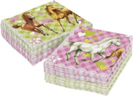 Paarden- Servetten