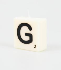 Letterkaars- G