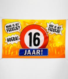 Vlag- 16 jaar