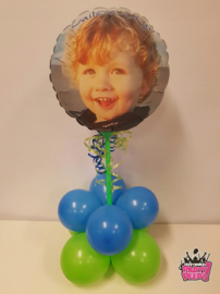 Fotoballon- Maxi Cute rond luxe