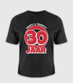 T-shirt- 30 jaar