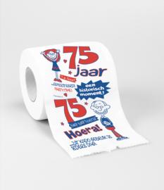 Toilet- 75 jaar