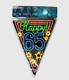 Neon vlaglijn- 65 jaar
