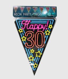 Neon vlaglijn- 30 jaar