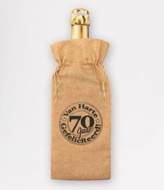 Wijnzak- 70 jaar
