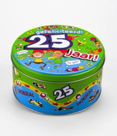 Trommel- 25 jaar