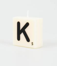 Letterkaars- K