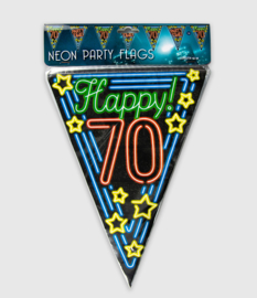 Neon vlaglijn- 70 jaar